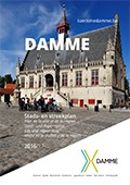 cover Stadsplan Damme 2016/17
